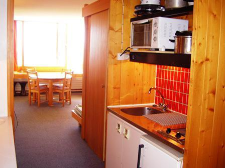 Vacances en montagne Studio cabine 4 personnes (4172R) - Résidence Versant Sud - Les Arcs - Cuisine