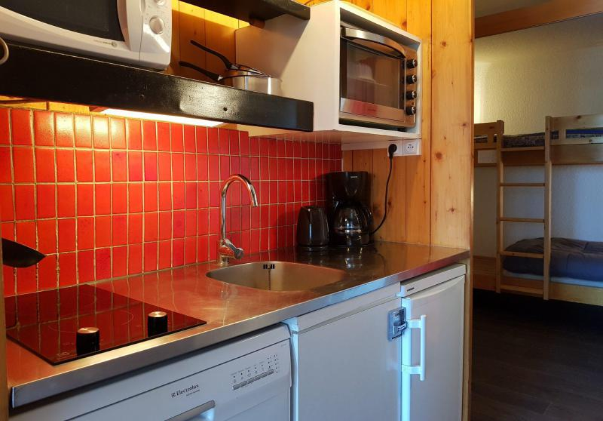 Vacances en montagne Studio coin montagne 4 personnes (4117R) - Résidence Versant Sud - Les Arcs - Cuisine