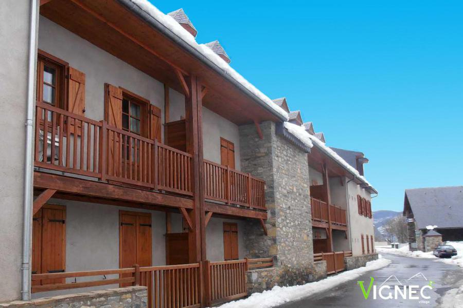 Vacances en montagne Résidence Vignec Village - Saint Lary Soulan - Extérieur été