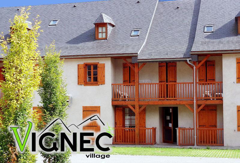 Skiverleih Résidence Vignec Village - Saint Lary Soulan - Draußen im Sommer