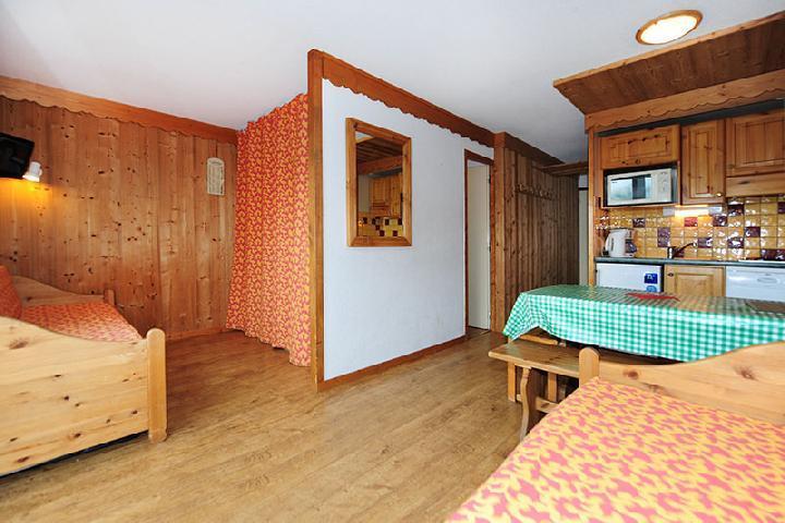 Vacances en montagne Appartement 2 pièces cabine 5 personnes (104) - Résidence Villaret - Les Menuires - Kitchenette