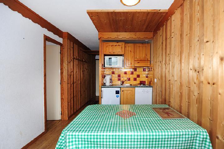 Vacances en montagne Appartement 2 pièces cabine 5 personnes (104) - Résidence Villaret - Les Menuires - Séjour