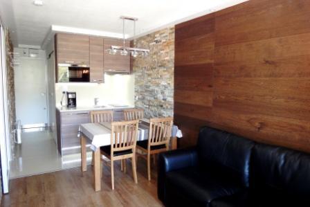 Vacances en montagne Studio cabine 4 personnes (305) - Résidence Villaret - Les Menuires - Cabine