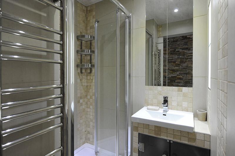 Vacances en montagne Studio cabine 4 personnes (305) - Résidence Villaret - Les Menuires - Salle de bains