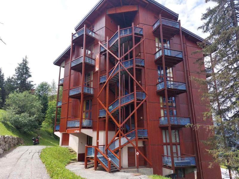 Skiverleih Résidence Vogel - Les Arcs - Draußen im Sommer