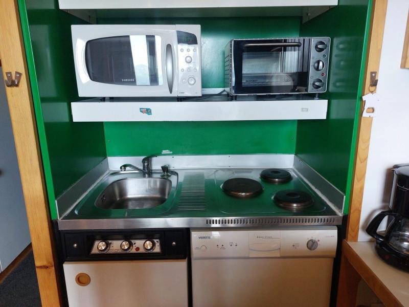 Vacances en montagne Appartement 2 pièces mezzanine 6 personnes (004) - Résidence Vogel - Les Arcs - Lit double