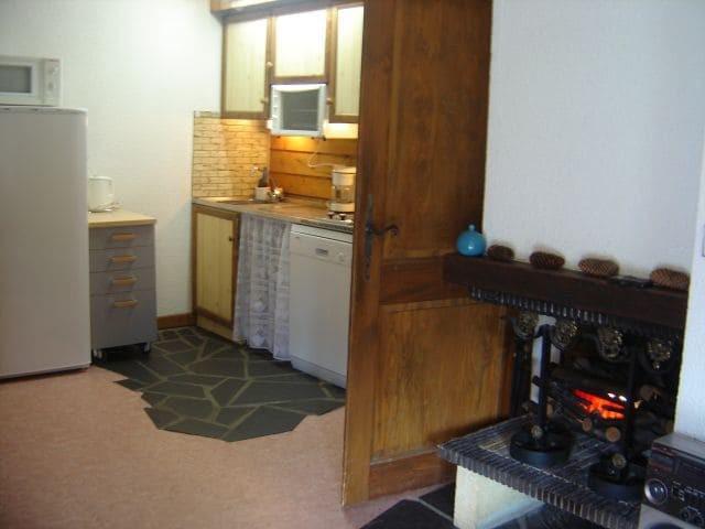 Vacaciones en montaña Apartamento 2 piezas para 5 personas (YT1069) - Résidence Yéti - Châtel - Cocina