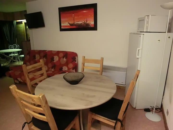 Vacaciones en montaña Apartamento 2 piezas para 5 personas (YT1069) - Résidence Yéti - Châtel - Mesa