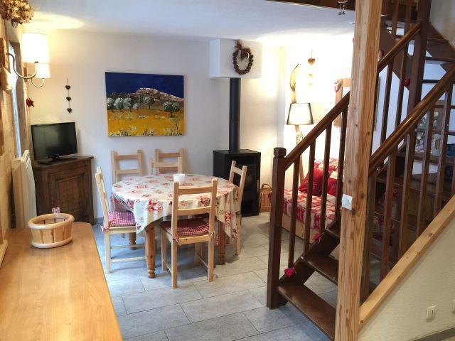 Vacaciones en montaña Apartamento dúplex 3 piezas 6 personas (YT4068) - Résidence Yéti - Châtel - Comedor
