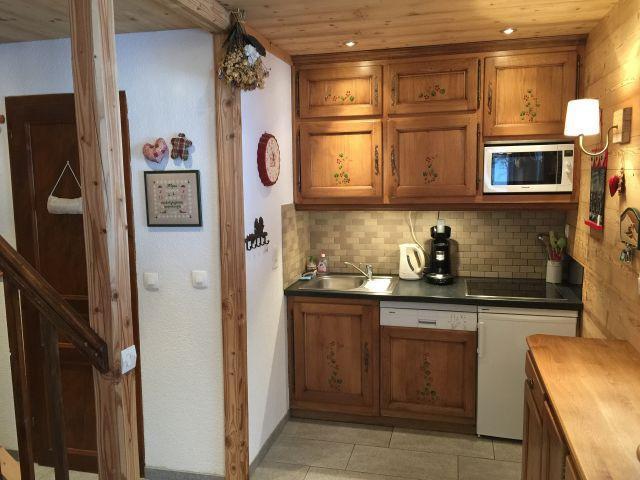 Vacaciones en montaña Apartamento dúplex 3 piezas 6 personas (YT4068) - Résidence Yéti - Châtel - Kitchenette