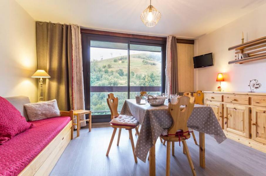Holiday in mountain resort Studio sleeping corner 5 people (1409) - Résidence Zodiaque Vostok - Le Corbier