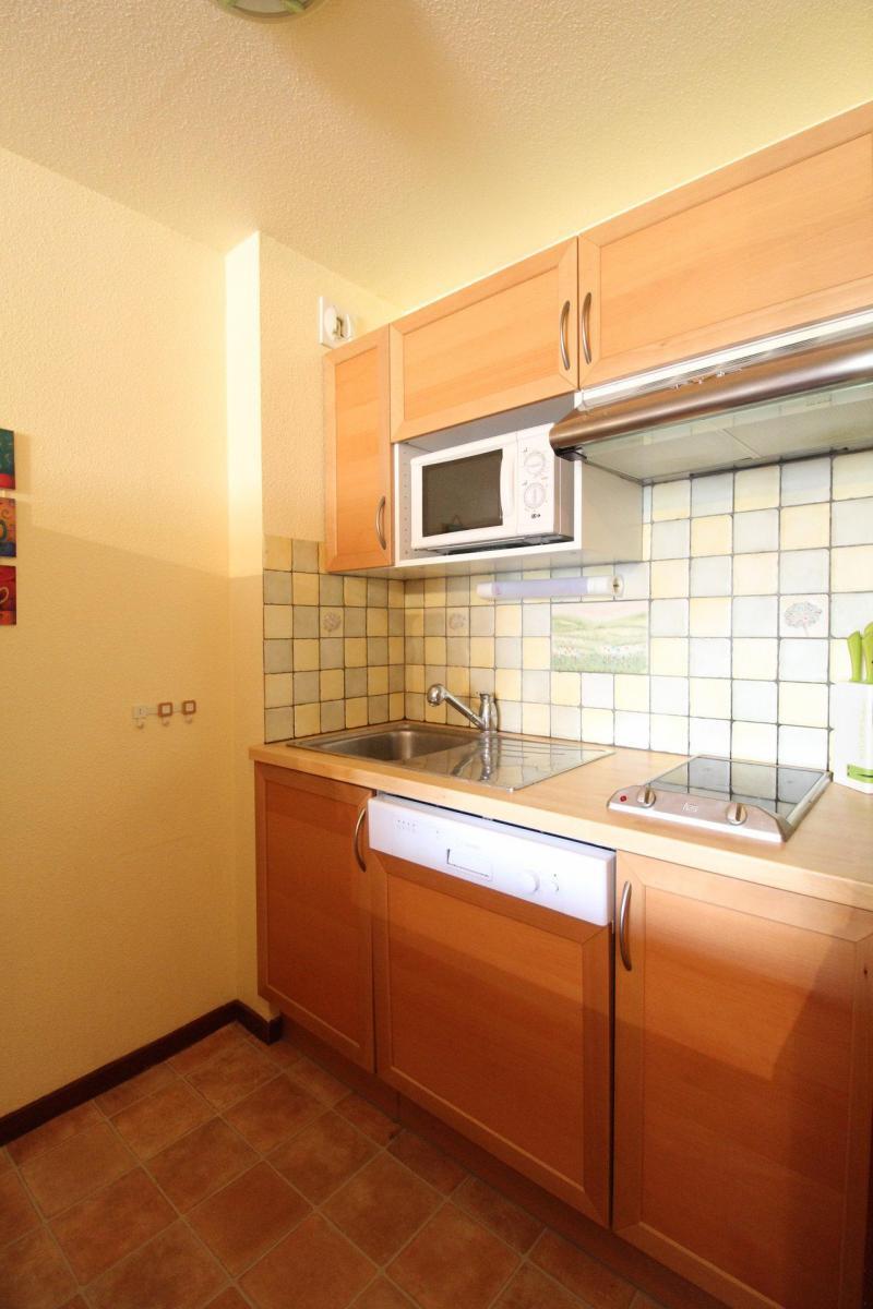 Vakantie in de bergen Appartement 2 kamers 5 personen (BO0026) - Résidences du Quartier Napoléon - Val Cenis - Keukenblok