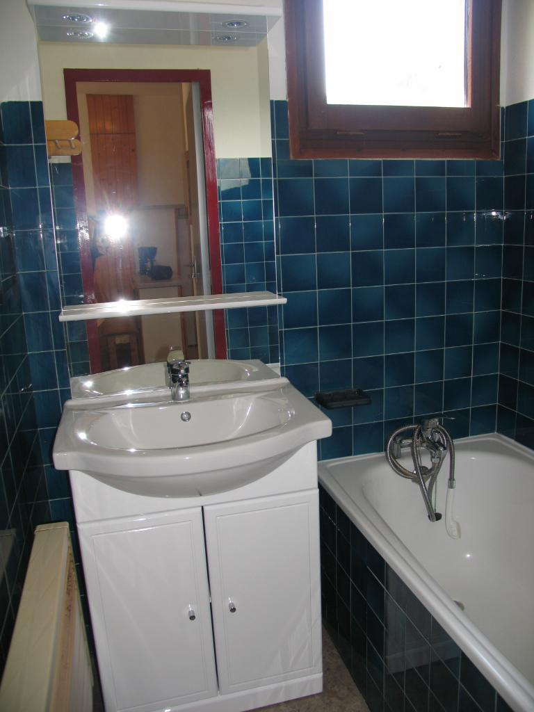 Vakantie in de bergen Appartement 3 kamers 7 personen (AR11) - Résidences du Quartier Napoléon - Val Cenis - Badkamer