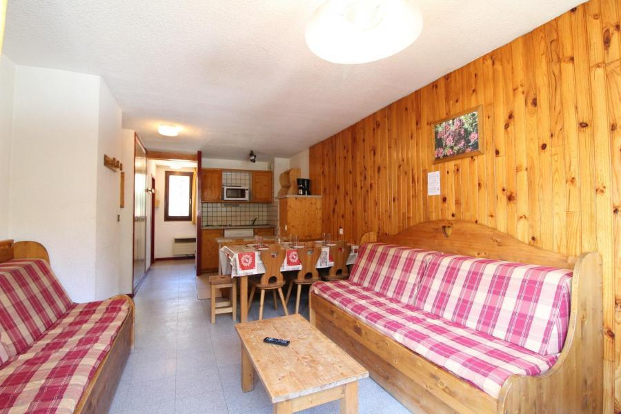 Vakantie in de bergen Appartement 3 kamers 7 personen (AR21) - Résidences du Quartier Napoléon - Val Cenis - Woonkamer
