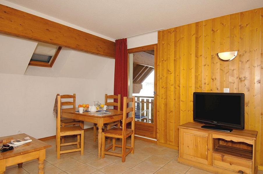 Holiday in mountain resort Résidences Goelia les Balcons du Soleil - Les 2 Alpes - Dining area