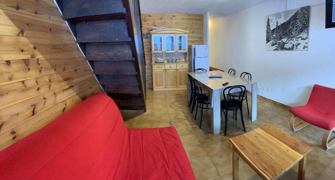 Wakacje w górach Apartament duplex 3 pokojowy 6 osób (275) - Résidences les Gentianes - Vars - Pokój gościnny