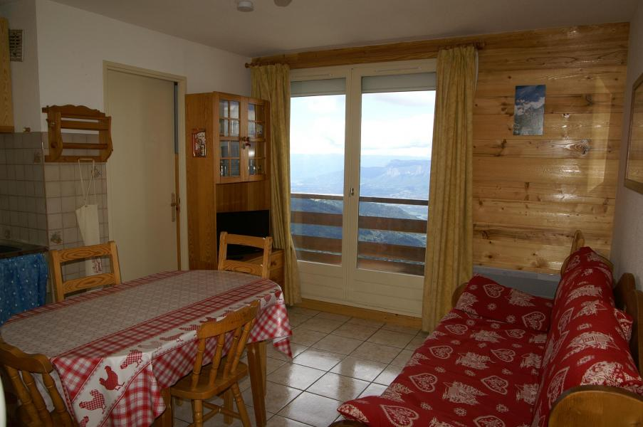 Urlaub in den Bergen 2-Zimmer-Holzhütte für 6 Personen (Standard) - Résidences Prapoutel les 7 Laux - Les 7 Laux - Wohnzimmer