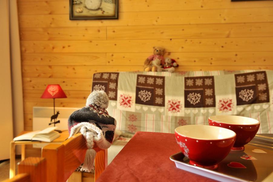 Urlaub in den Bergen Résidences Puy St Vincent 1600 - Puy-Saint-Vincent - Einfache Klappschlafcouch