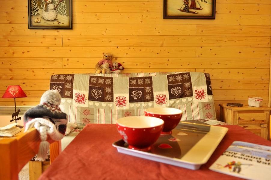 Urlaub in den Bergen Résidences Puy St Vincent 1600 - Puy-Saint-Vincent - Klappschlafcouch