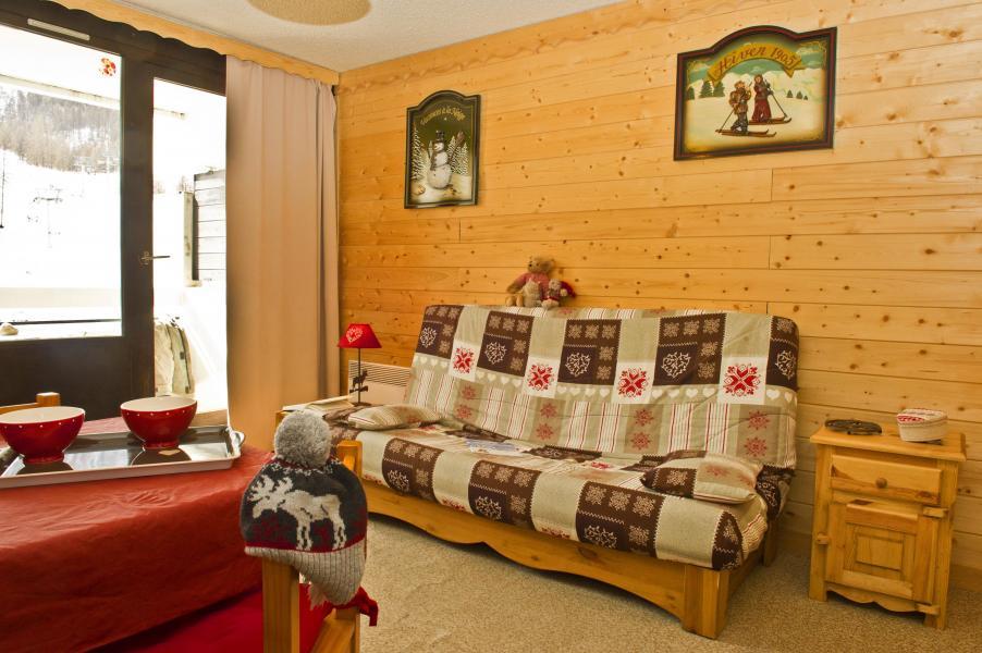 Urlaub in den Bergen Résidences Puy St Vincent 1600 - Puy-Saint-Vincent - Wohnzimmer