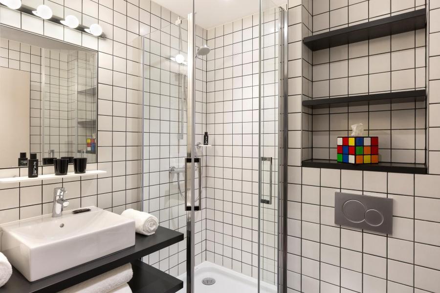 Vacaciones en montaña Rockypop Hôtel - Les Houches - Cuarto de baño con ducha