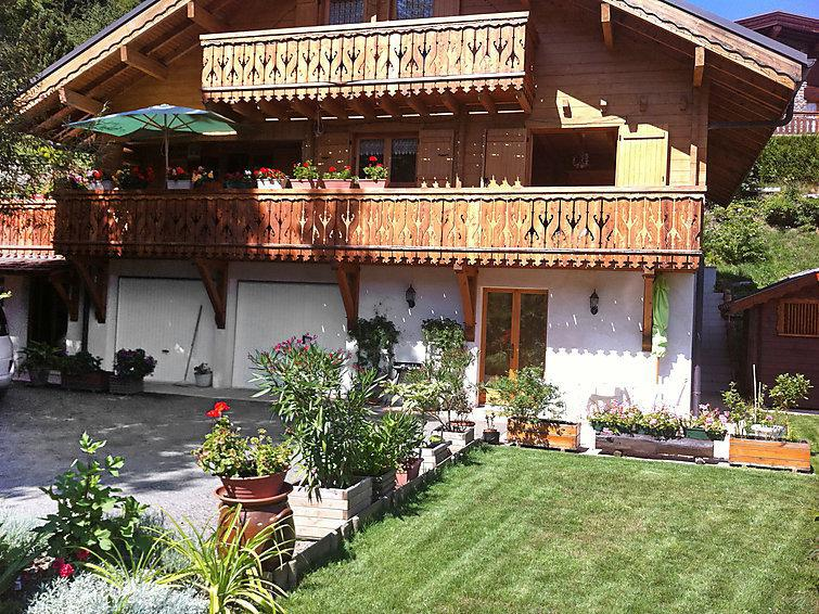 Holiday in mountain resort 2 room apartment 4 people (1) - Rubigny - Saint Gervais - Summer outside