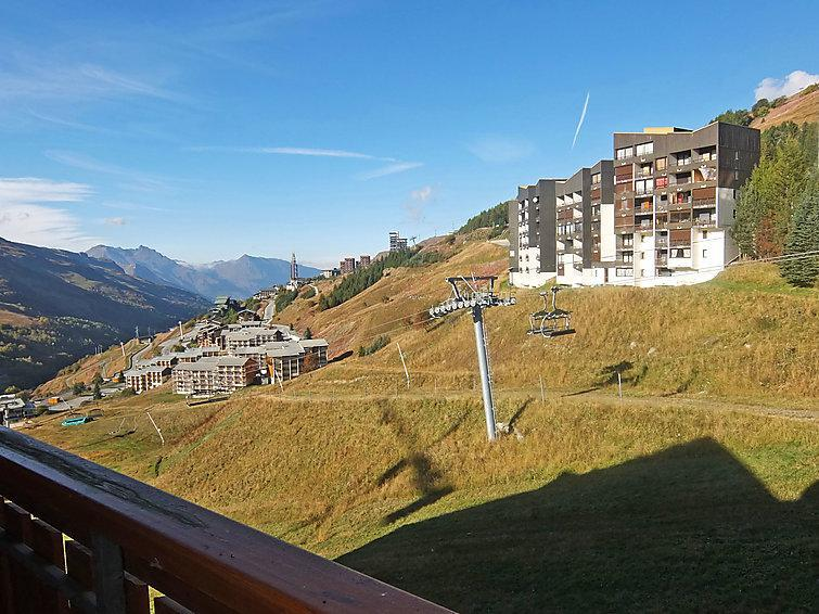 Holiday in mountain resort 1 room apartment 4 people (1) - Ski Soleil - Les Menuires - Accommodation