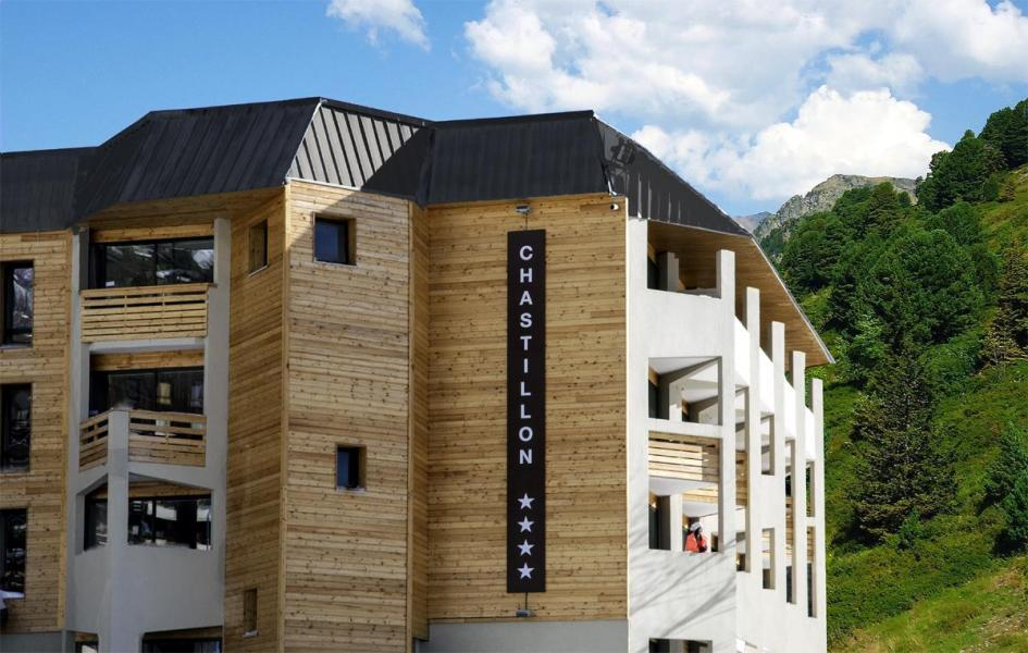 Аренда на лыжном курорте Sowell Résidences New Chastillon - Isola 2000 - летом под открытым небом
