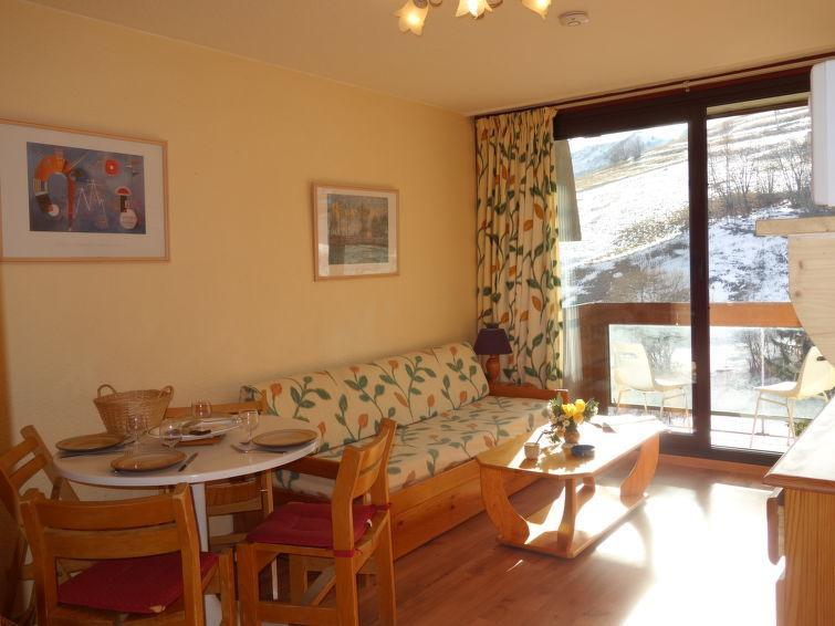 Holiday in mountain resort 1 room apartment 4 people (69) - Soyouz Vanguard - Le Corbier - Accommodation