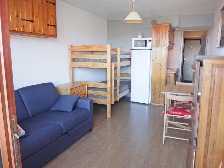 Vakantie in de bergen Appartement 1 kamers 4 personen (78) - Soyouz Vanguard - Le Corbier - Buiten zomer