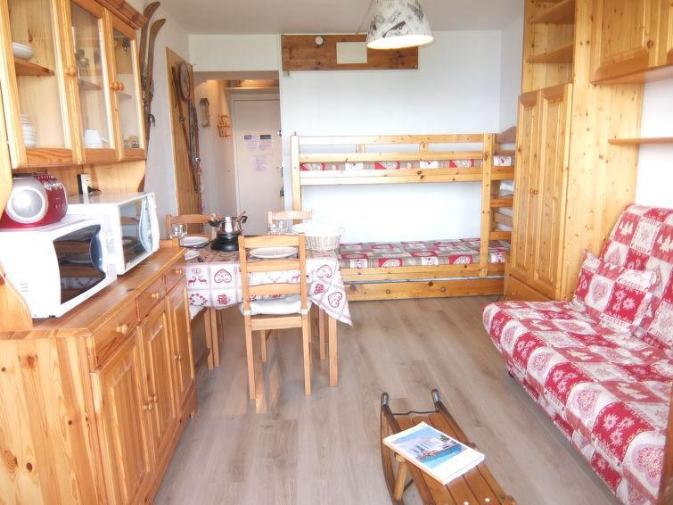 Holiday in mountain resort 1 room apartment 4 people (79) - Soyouz Vanguard - Le Corbier - Summer outside