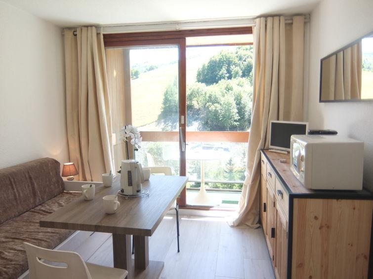 Holiday in mountain resort 1 room apartment 4 people (47) - Soyouz Vanguard - Le Corbier - Summer outside