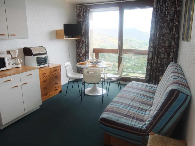 Holiday in mountain resort 1 room apartment 4 people (5) - Soyouz Vanguard - Le Corbier - Summer outside
