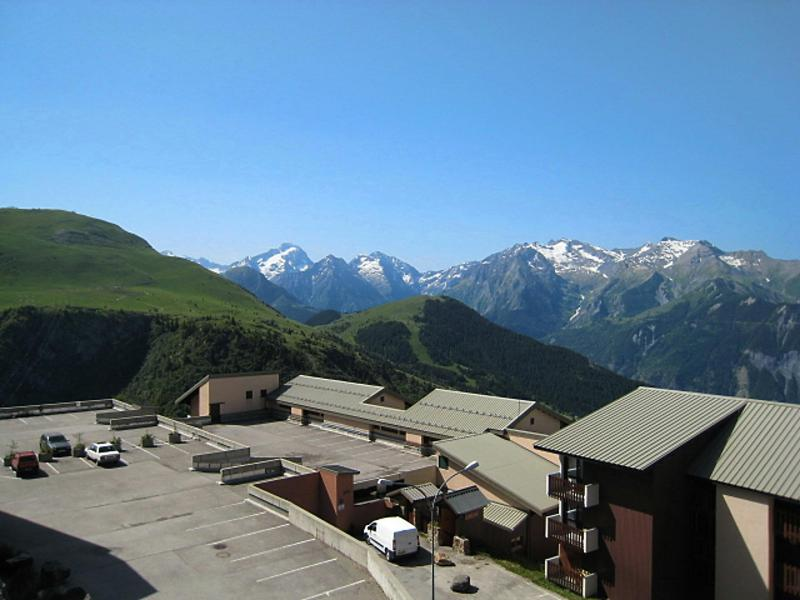 Holiday in mountain resort 1 room apartment 4 people (1) - Val d'Huez - Alpe d'Huez - Summer outside
