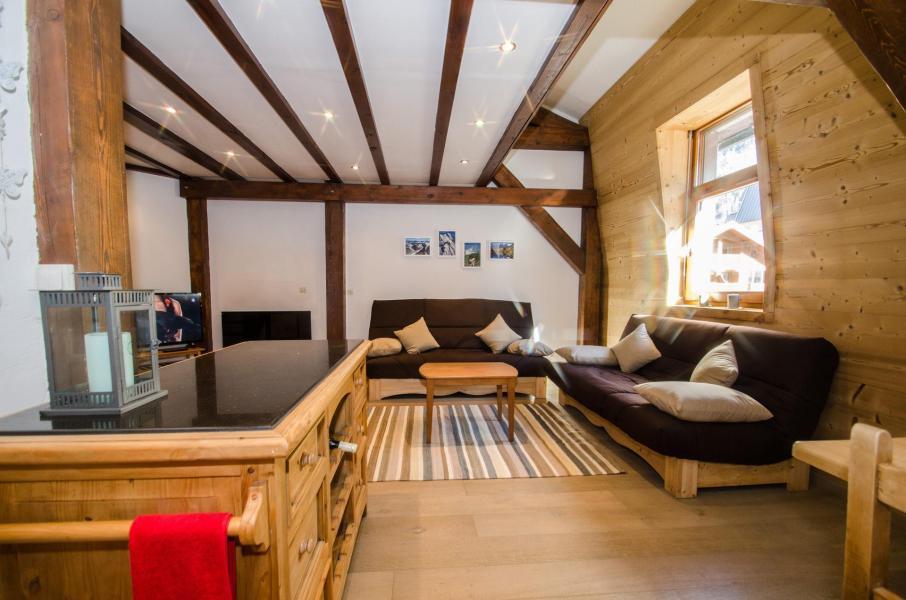 Wakacje w górach Apartament duplex 3 pokojowy 6 osób (antares) - VILLA 1930 - Chamonix - Pokój gościnny