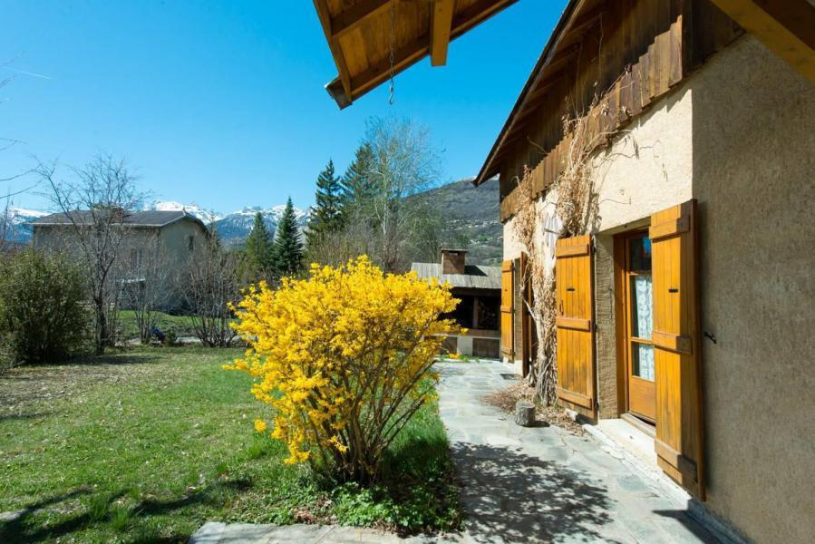 Wakacje w górach Willa 6 pokojowa na poddaszu dla 14 osób - Villa Individuelle Hameau de Pont de Cervières - Serre Chevalier - Na zewnątrz latem