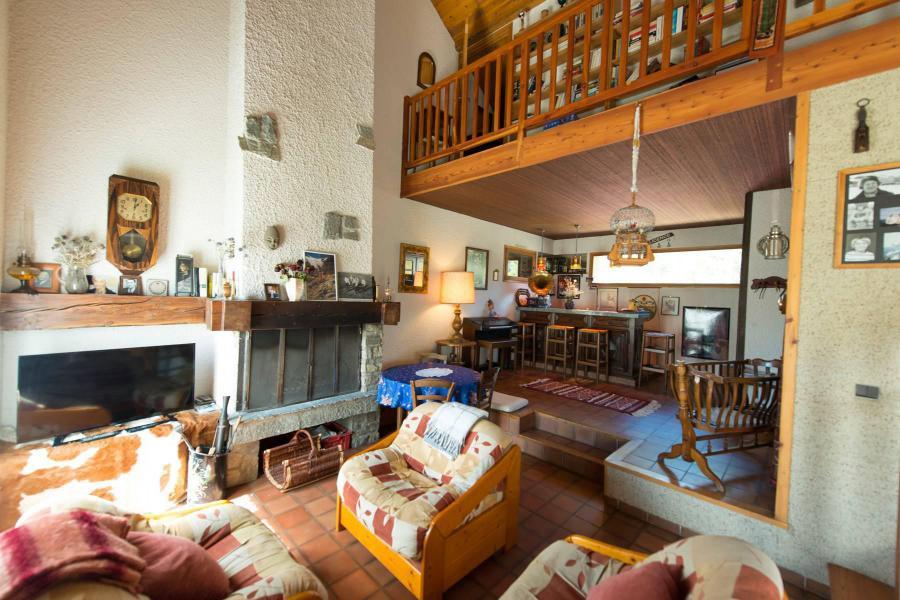 Wakacje w górach Willa 6 pokojowa na poddaszu dla 14 osób - Villa Individuelle Hameau de Pont de Cervières - Serre Chevalier - Pokój gościnny