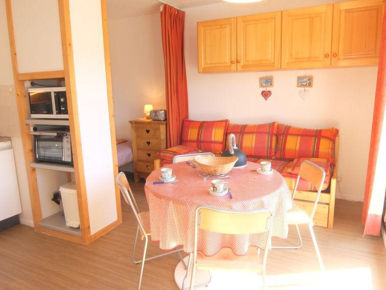 Holiday in mountain resort 1 room apartment 4 people (42) - Vostok Zodiaque - Le Corbier - Accommodation