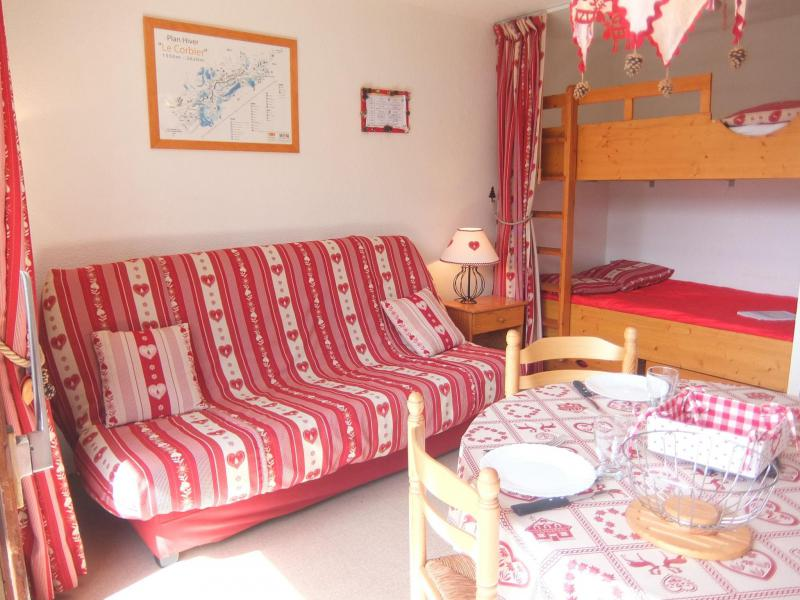 Holiday in mountain resort 1 room apartment 4 people (79) - Vostok Zodiaque - Le Corbier - Accommodation