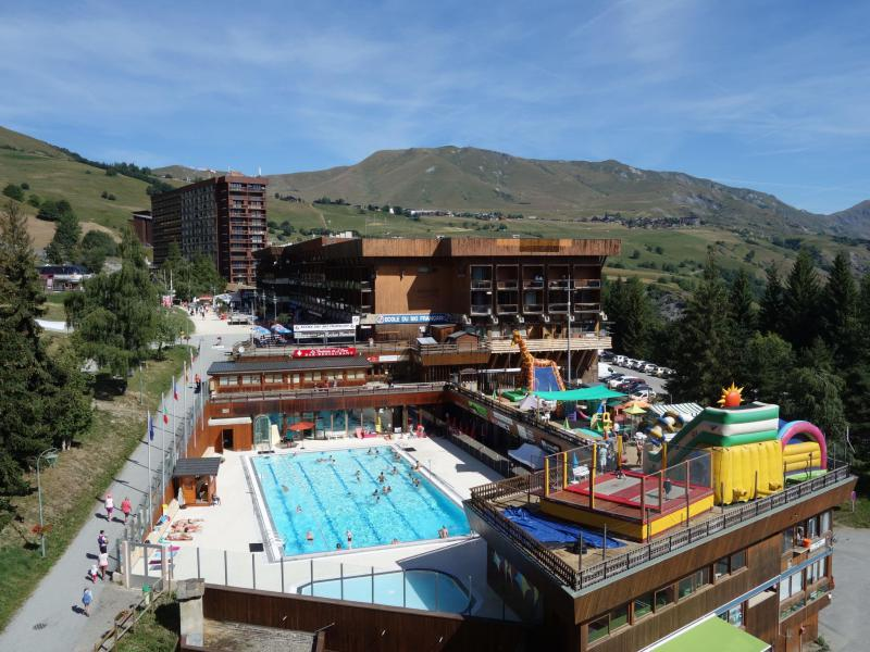 Location au ski Appartement 1 pièces 2 personnes (85) - Vostok Zodiaque - Le Corbier - Extérieur été
