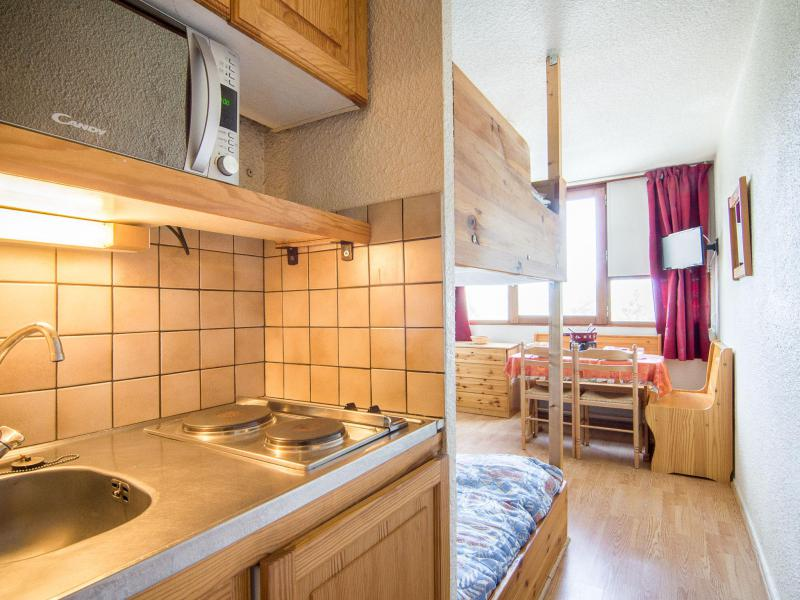 Vakantie in de bergen Appartement 1 kamers 2 personen (63) - Vostok Zodiaque - Le Corbier
