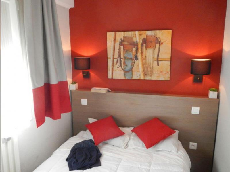 Vakantie in de bergen VVF Villages l'Aure Pyrénéen - Saint Lary Soulan - 2 persoons bed