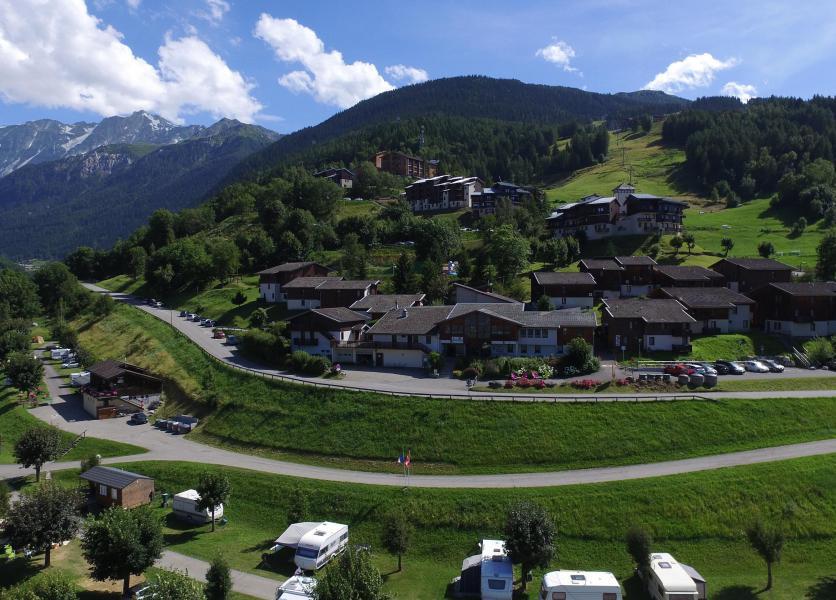 Vacances en montagne VVF Villages le Balcon du Mont-Blanc - Montchavin La Plagne - Extérieur été
