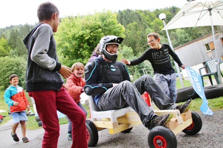 Urlaub in den Bergen VVF Villages les Monts du Jura - Lélex