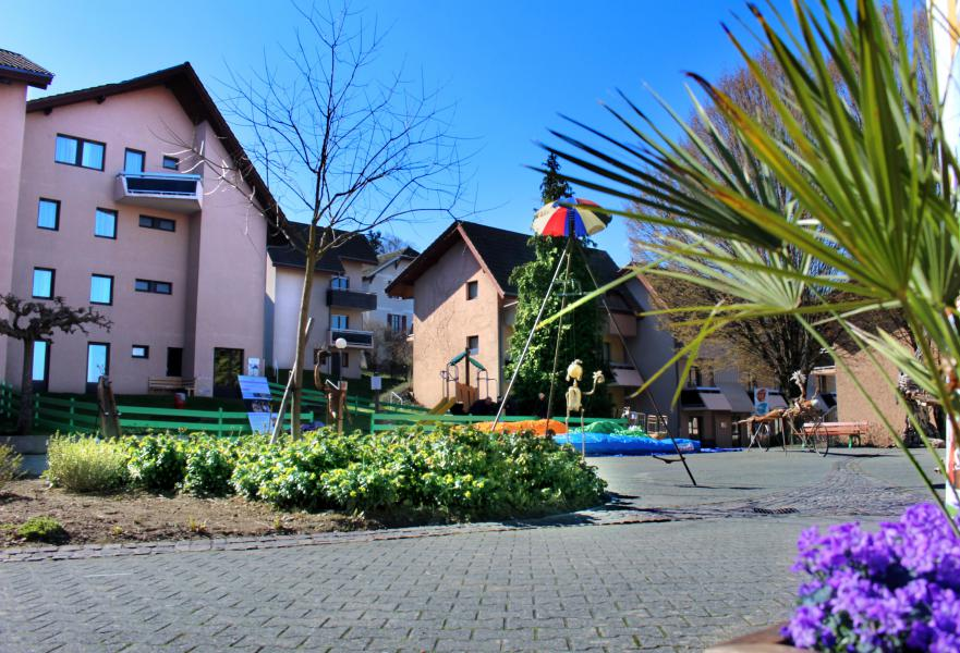 Location au ski VVF Villages les Rives du Léman - Thollon les Mémises - Extérieur été
