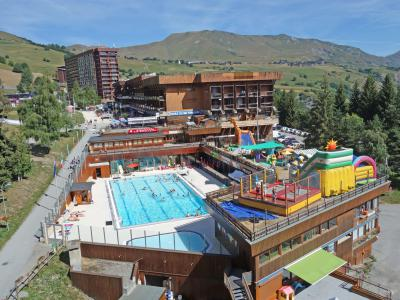 Rent in ski resort 2 room apartment 4 people (4) - Baikonour - Le Corbier - Summer outside