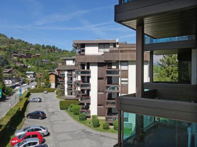 Rent in ski resort 1 room apartment 4 people (2) - Castel des Roches - Saint Gervais - Summer outside