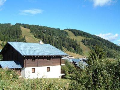Rent in ski resort Chalet Alpenrose - Les Saisies - Summer outside