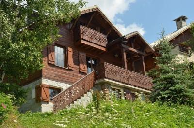 Location au ski Chalet Alpenvue - Alpe d'Huez - Extérieur été