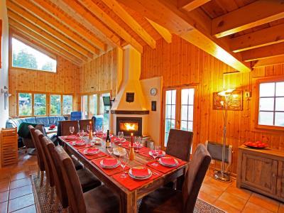 Holiday in mountain resort Chalet Alpina P12 - La Tzoumaz - Dining area